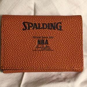 Men's wallet NBA basketball design logo